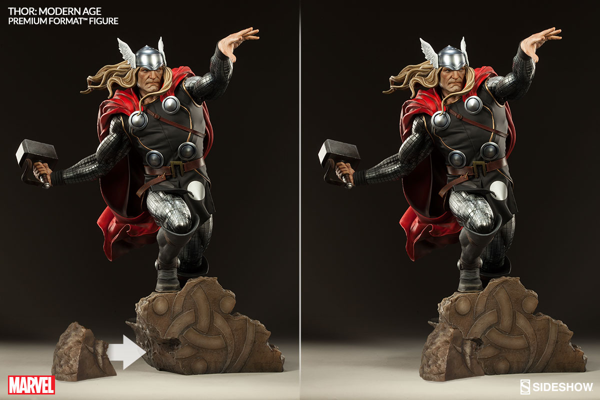 Thor Modern Age 14 Premium Format Figure Exclusive Pow The Hero